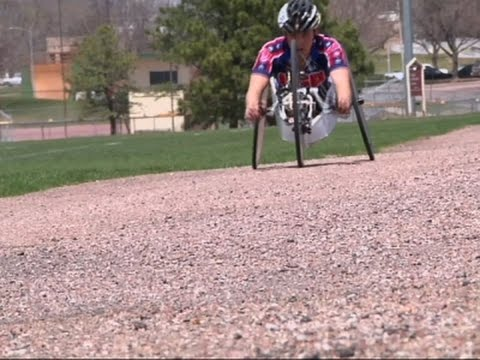 After Chernobyl, a Chance for a Paralympian