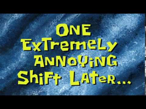 One Extremely Annoying Shift Later... | SpongeBob Time Card #85