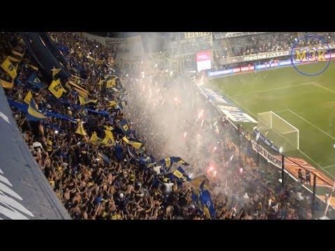 Video - Boca Gimnasia Ini13 / Fiesta y pirotecnia - La 12 - Boca Juniors - Argentina