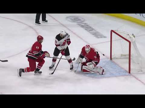 Video: New Jersey Devils vs Carolina Hurricanes | NHL | NOV-18-2018 | 18:00 EST