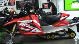 3. 2005 Ski-Doo MXZ-600 H.O. at Road Track and Trail