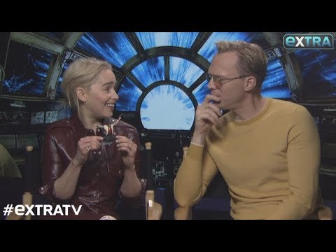 Emilia Clarke and Paul Bettany Dish on 'Solo: A Star Wars Story'
