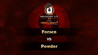 Powder vs Forsen, game 1