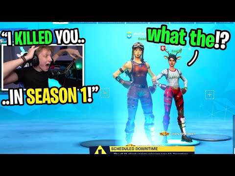 I Killed A Famous Twitch Streamer In SEASON 1 And Added Him In Season 9 Fortnite... (2 YEARS LATER!)