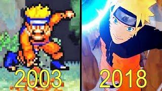 Video Evolution of Naruto Games 2003-2018 MP3, 3GP, MP4, WEBM, AVI, FLV November 2017