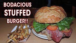 GOURMET STUFFED BURGER CHALLENGE IN UTAH!!