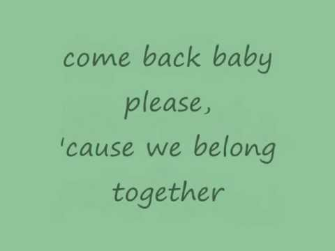 Video Mariah Carey - We Belong Together (lyrics on screen) download in MP3, 3GP, MP4, WEBM, AVI, FLV January 2017