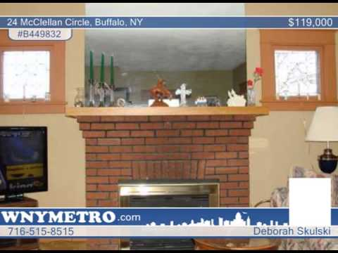 24 McClellan Circle  Buffalo, NY Homes for Sale | wnymetro.com