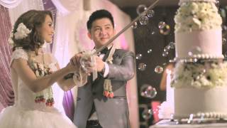 Video Beautiful In White - VChed&Rissa Wedding 💐💜💚💙 MP3, 3GP, MP4, WEBM, AVI, FLV Juni 2018