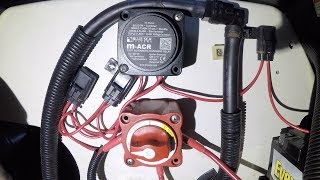 10. Yamaha FX Jet Ski Dual Battery Install With ACR and Dual Switch FXHO