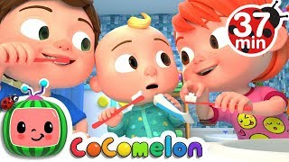 Video This is the way + More Nursery Rhymes & Kids Songs - CoCoMelon MP3, 3GP, MP4, WEBM, AVI, FLV Maret 2019