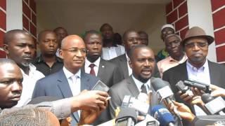 Les nouvelles revendications de l'opposition et menace de manifestation