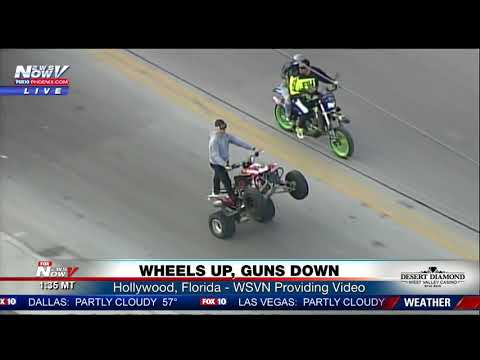 WATCH: Bikers Take Over Miami Area Streets On Martin Luther King Jr. Day (FNN)