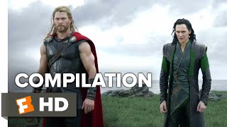 Thor: Ragnarok ALL Trailers + Extras (2017) | Movieclips Trailers