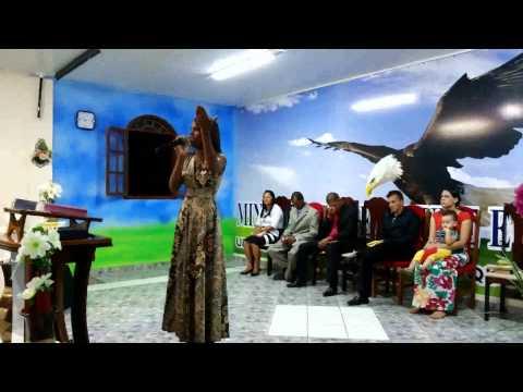 Cantora Merilyn Silva Em Aporá Dono de Tudo
