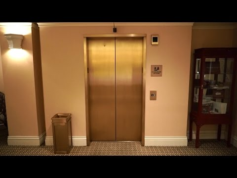 NudgeMode 1995 OTIS series 1 hydraulic elevator @ The Hotel Roanoke & Conference Center, Roanoke, VA