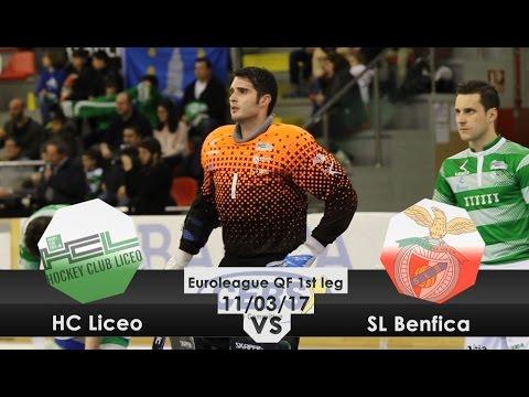 Resumo 1.ª mão 1/4 final Liga Europeia: HC Liceo 2-3 SL Benfica