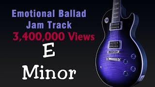 Video E Minor Emotive Rock Ballad Jam Track 100 Bpm MP3, 3GP, MP4, WEBM, AVI, FLV Oktober 2018
