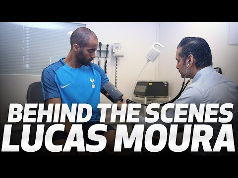 BEHIND THE SCENES | LUCAS MOURA SIGNS FOR SPURS (видео)