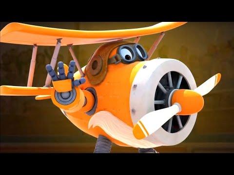 Супер Крылья 13 серия - Мультик про самолеты трансформеры   Super Wings на русском