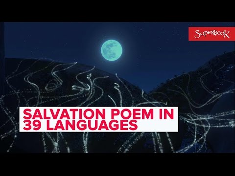 """The Salvation Poem� in 39 languages - Superbook"
