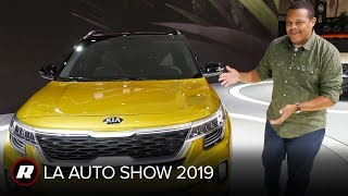2021 Kia Seltos: Compact SUV's complicated look will have to grow on us by Roadshow