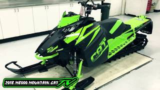 6. Country Cat - 2018 Arctic Cat M 8000 Mountain Cat 153
