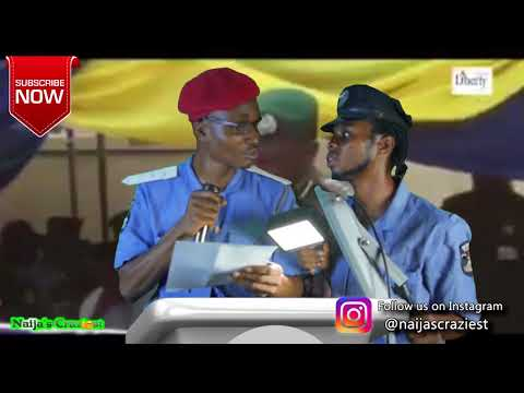 IGP Drinks Transmission Fluid During Speech - Hilarious Parody
