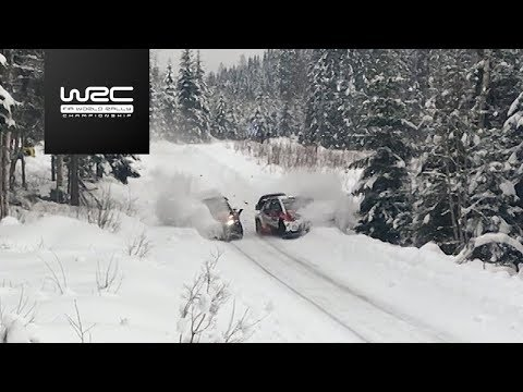 WRC - Rally Sweden 2018: Review Clip / Highlights