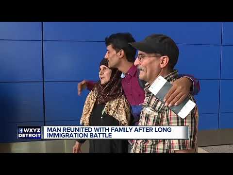 Family quotes - Man reunited with family after long immigration battle