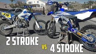 7. 2 STROKE vs 4 STROKE! (YZ250 VS YZ250F)