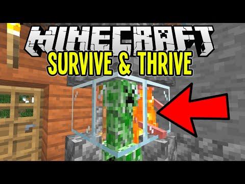 Super Easy CAMPFIRE MOB GRINDER   Minecraft Survival Let's Play Tutorial Ep. 4