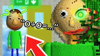 Baldi's NEW ENDING, Characters & HARD MODE! - Baldi's Basics in Education and Learning Update & Mod