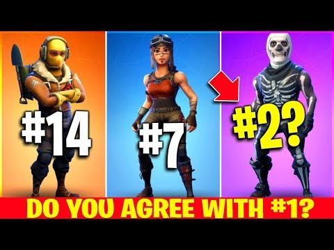Video The 20 BEST Fortnite Skins EVER (voted by fans) download in MP3, 3GP, MP4, WEBM, AVI, FLV January 2017
