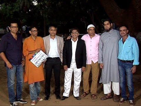Paresh Rawal And Anu Kapoor At Mahurat Shoot Of Movie Dharam Sankat Mein