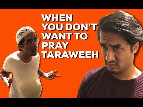 WHEN YOU DONT WANT TO PRAY TARAWEEH! RAMADAN #1