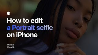 Video How to edit a Portrait selfie on iPhone — Apple MP3, 3GP, MP4, WEBM, AVI, FLV November 2018