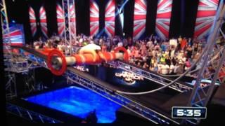 Ninja Warrior UK serie 3 - Nicolas Kinche - Final