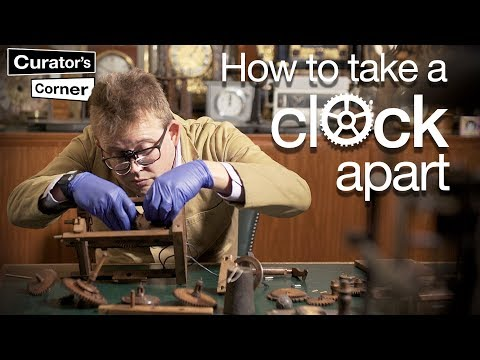 How to take a clock apart (and put it back together again) I Curator's Corner season 3 episode 4