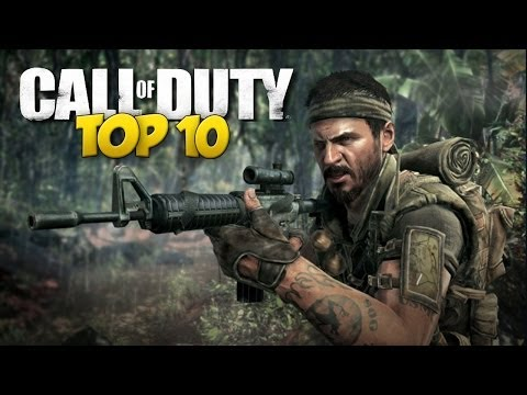 top 10 kills call of duty black ops
