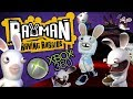 Rayman Raving Rabbids For Xbox 360 no Commentary Full P