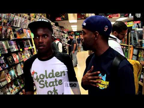 comic book - We followed Murs around New York City's Midtown Comics as he picked up his weekly dose of comic books. Subscribe to Fuse: http://bit.ly/fuseSub And don't for...
