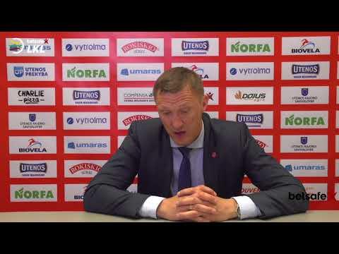 """""""Betsafe–LKL"""" rungtynių komentarai: """"Juventus"""" - """"Šiauliai"""" [2018-05-03]"""