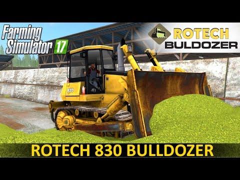 Rotech 830 Bulldozer V0.9
