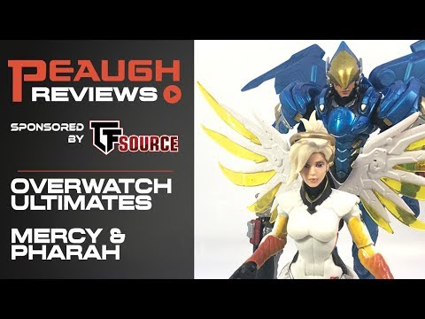 Video Review: Hasbro Overwatch Ultimates Mercy/pharah 2-pack