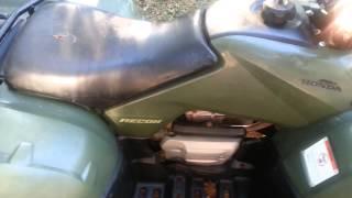 8. 2007 Honda Recon Motor Noise
