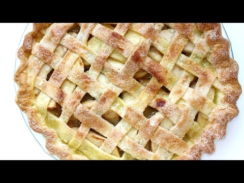 Pie - Learn how to make apple pie at home this Fall. This is an easy apple pie recipe. * Easy Apple Pie Recipe http://eugeniekitchen.com/apple-pie * New videos eve...
