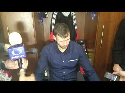 Donatas Motiejunas after Rockets home loss to Utah