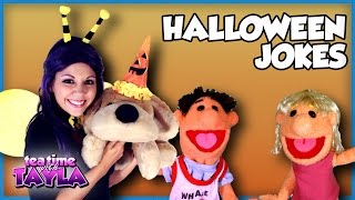 Halloween Jokes for kids, Tea Time with Tayla