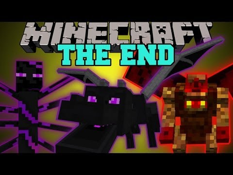 Minecraft: THE END MOD (HARDCORE BOSSES, DUNGEONS, & EPIC ITEMS!) Mod Showcase